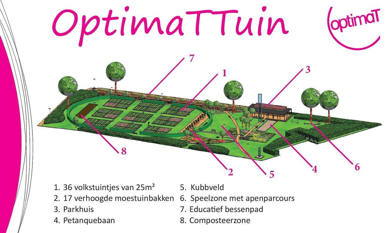OptimaTTuin - plattegrond
